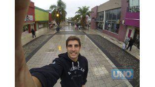 Hure volvió a Paraná y a su casa