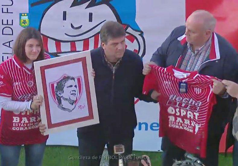 Unión recordó a Diego Barisone