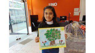 Conocé a la ganadora del  Concurso Día del Niño de Diario UNO