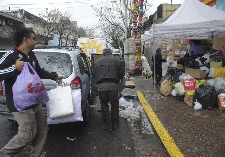 Las donaciones en Buenos Aires . Foto: Télam