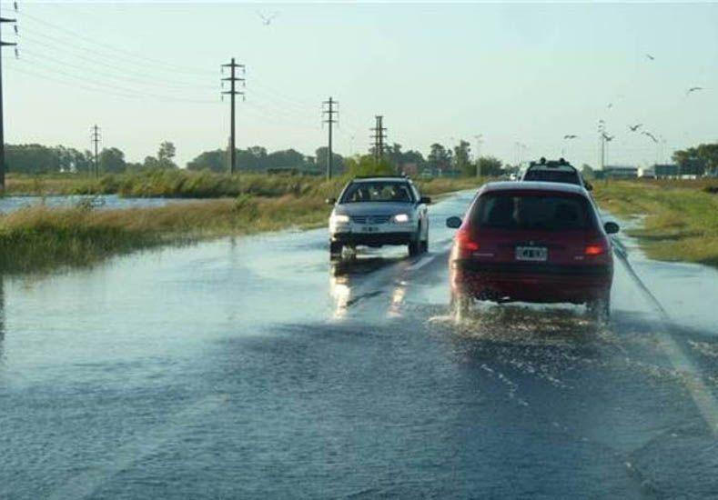 El estado de rutas provinciales de la provincia de Buenos Aires afectadas por las intensas lluvias