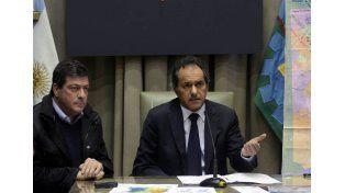 Scioli: La prioridad es atender a los damnificados