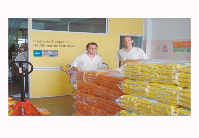 UNL donará 5.000 raciones de alimentos nutritivos para las zonas inundadas