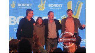 Para octubre. Bordet quiere más gente en el escenario durante la campaña