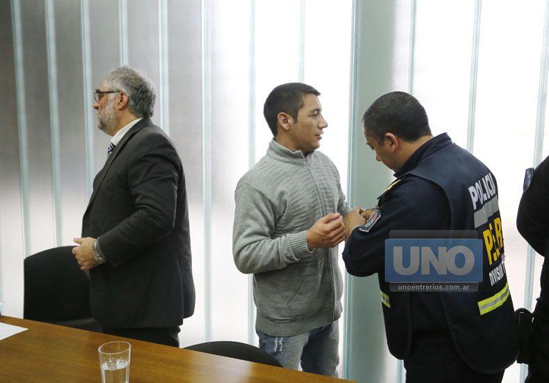 Risas. Bressan se mostró socarrón durante la declaración de un policía que habló sobre su detención. (Foto UNO/Diego Arias)