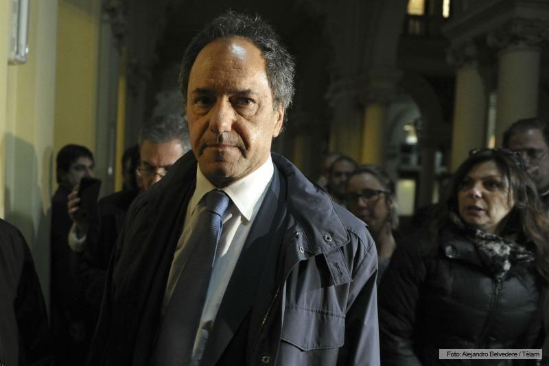 Scioli postergó su tratamiento en Italia y regresará a Argentina