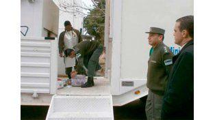 Fue récord en operativos antidrogas lo incautado en Villaguay.   Foto: Diario Río Uruguay