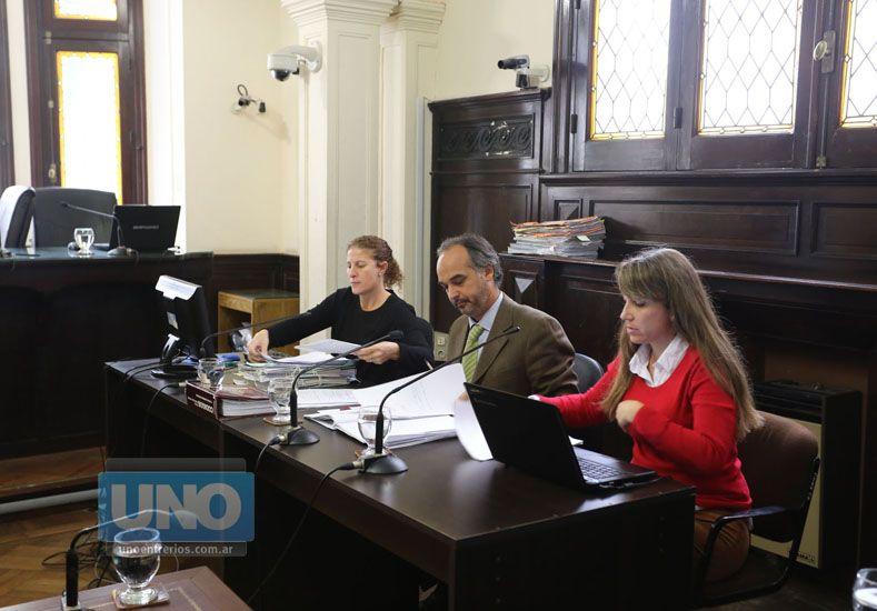 Fiscal. José Ignacio Candioti tiene a su cargo la acusación.   Foto UNO/Diego Arias
