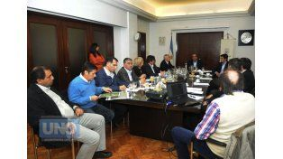 Apoyo. Las entidades santafesinas sentaron posición sobre la futura conexión vial a construir. Foto UNO de Santa Fe/José Busiemi