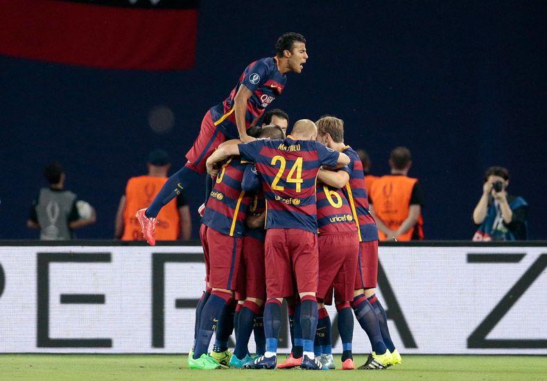 Barcelona el mejor de Europa