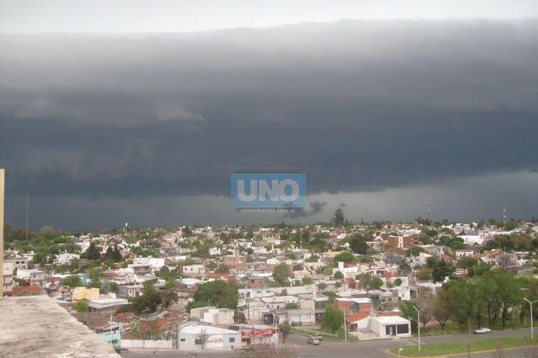 Hay alerta por tormentas fuertes para parte de Entre Ríos
