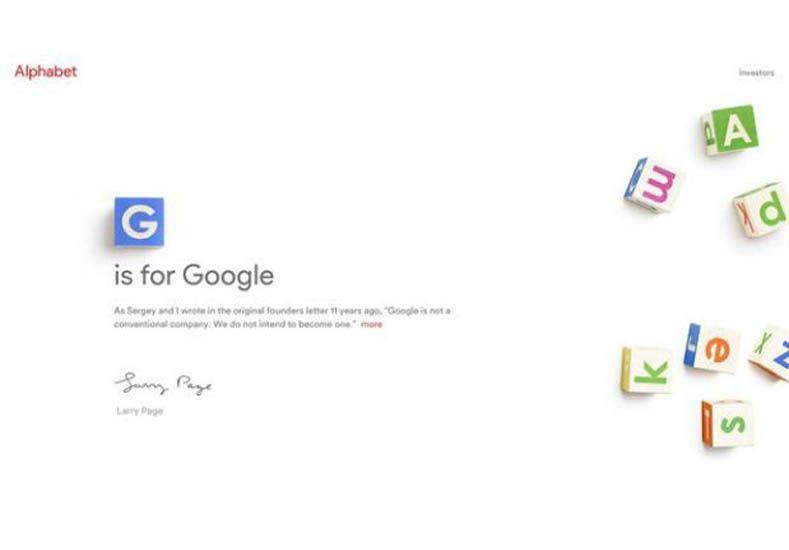 La firma Google cambia de nombre