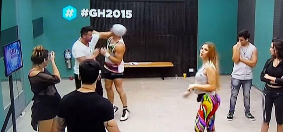 Otro hecho violento en  #GH2015