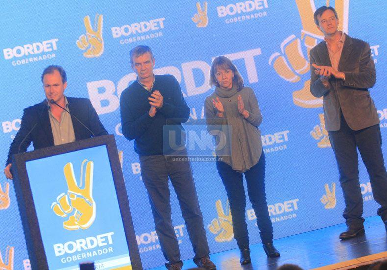 Bordet instó a la unidad para lograr en octubre un triunfo más contundente
