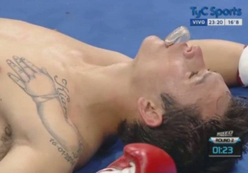 Foto: Captura de video de TyC Sports