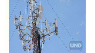 Otro panorama. Las nuevas tecnologías ya ocupan estructuras y antenas de menor envergadura.   Foto UNO/Archivo ilustrativa