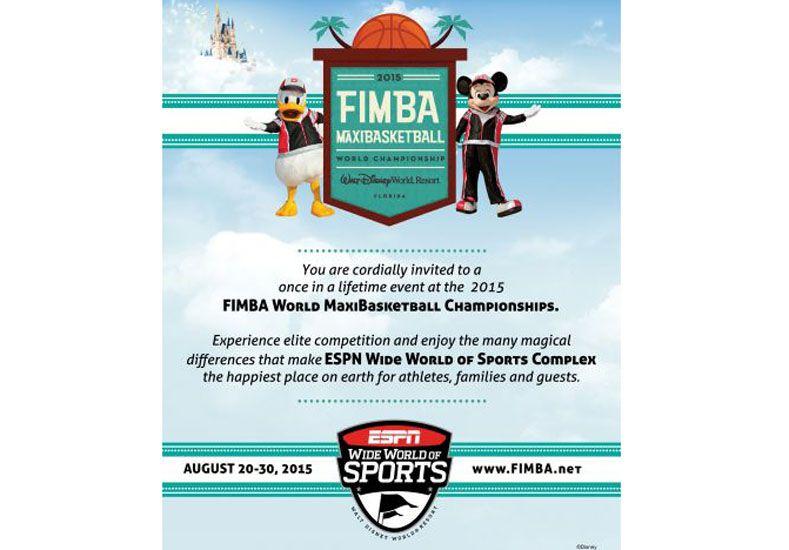 Ya se vive el Mundial. Fimba es la Federación internacional que nuclea a los jugadores de maxibásquet de todo el mundo.