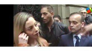 Máxima tensión: Gisela Bernal estaba dando un móvil y apareció su ex, Ariel Diwan