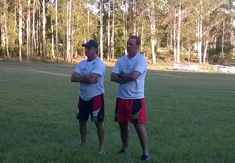 Clemente Minicucci (derecha) es el entrenador del segundo combinado de la UER.