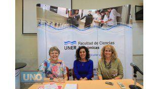 Involucradas. Patricia y Solange fueron algunas de la emprendedoras que trabajaron con Ferreyra.    Foto UNO/Juan Ignacio Pereira