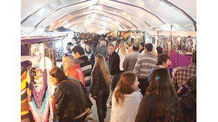 Postales en la  Feria de Invierno