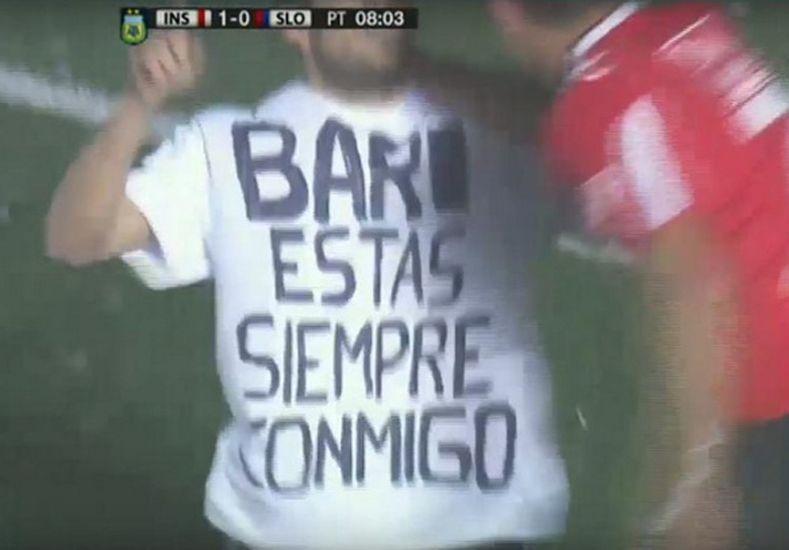 Así festejó su gol Pablo Magnín