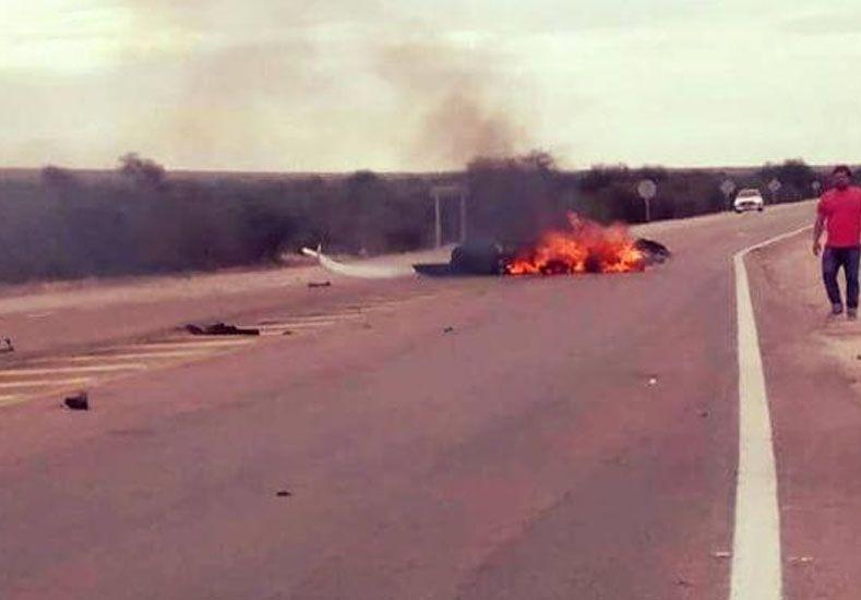 Cayó una avioneta cerca de Anillaco: 2 muertos
