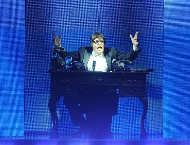 Campi provocó admiración y risas por su imitación de Tato Bores en ShowMatch