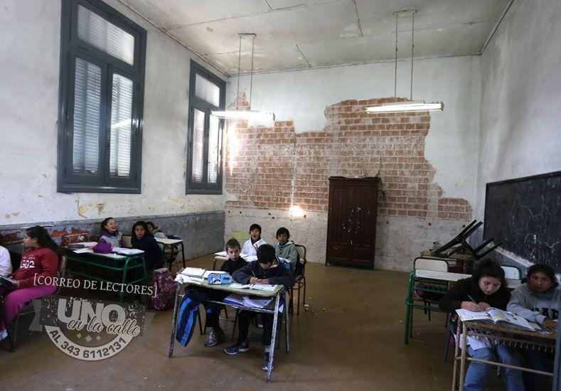 #UNOenLaCalle: Escuela Pública con alumnos en las aulas, siempre