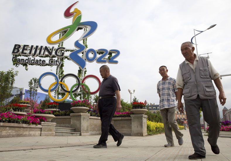 Beijing sede de los juegos. Foto: AP