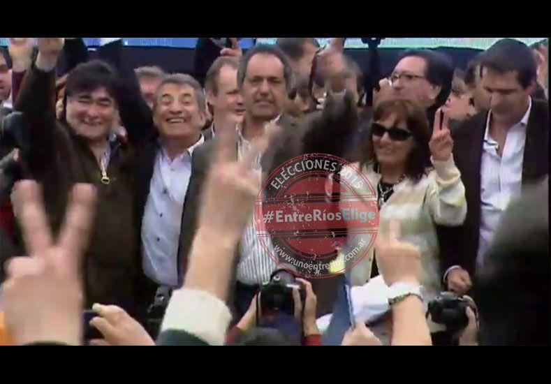 En Gualeguaychú, Scioli volvió a anunciar que Urribarri será protagonista