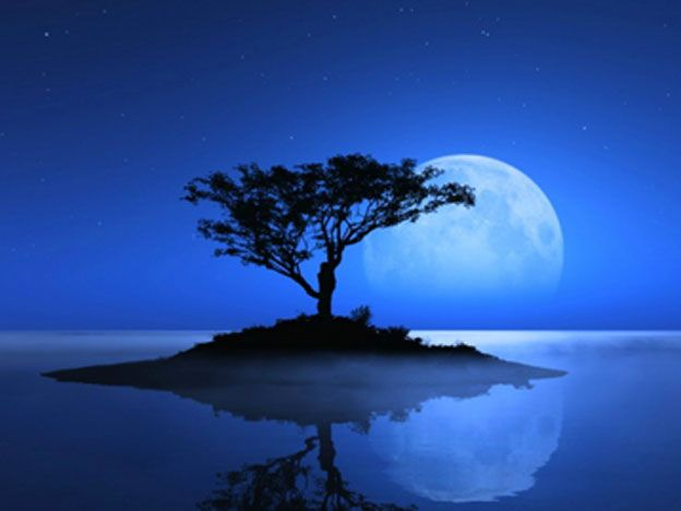 La razón por la cual no se vio la luna de color azul