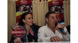 De Ángeli hizo campaña con Michetti en Concordia y Gualeguaychú