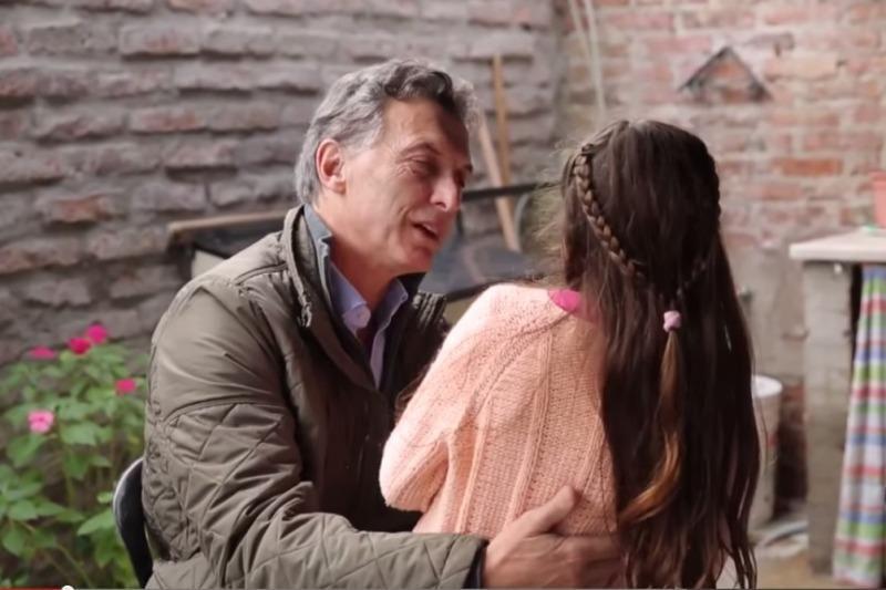 Piden suprimir un spot de Macri por naturalizar el trabajo infantil