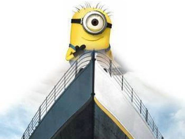Los Minions ya le ganaron a Titanic