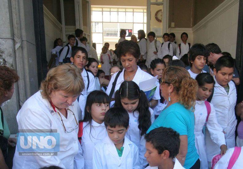 Fallo ordenó que no se interrumpan las clases. Foto UNO/Archivo ilustrativa