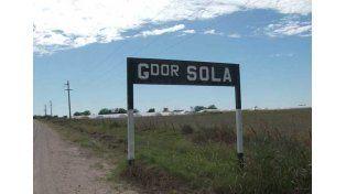 Ocurrió en Gobernador Solá. Foto: Internet