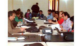 Secretarios generales de Agmer llamaron a los docentes a seguir movilizados