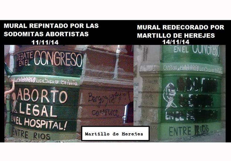 La Iglesia repudió el accionar del grupo clandestino Martillo De Herejes