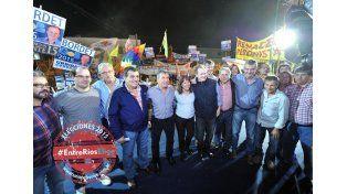 Campaña. Los candidatos buscaron transmitir un fuerte mensaje de unidad hacia las PASO.