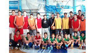 Talentos por toda la provincia. El Programa de búsqueda está destinado a jugadores de 13 a 16 años de edad y se trabajó en jornadas de entrenamientos durante la mañana y la tarde.