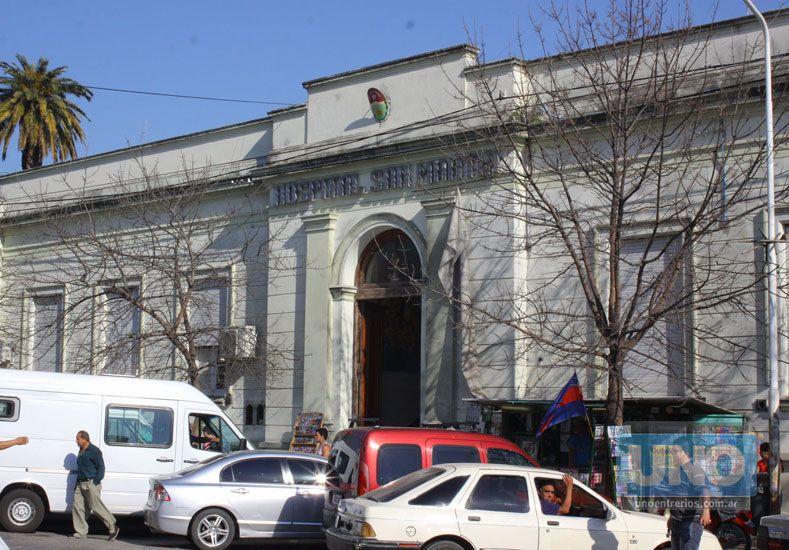 La mujer está internada en el hospital San Martín.  Foto UNO/Archivo ilustrativa