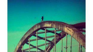 Video: imprudencia sobre el Puente Carretero en primera persona