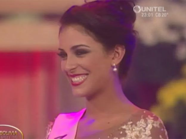 Insólita respuesta de Miss Bolivia