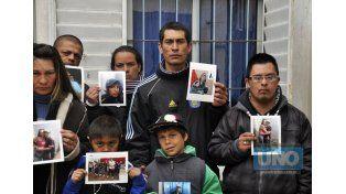 Familiares y amigos de Jonathan Emanuel Vázquez piden justicia. Foto UNO/Archivo