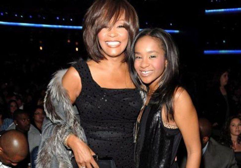 Whitney Houston y Bobbi Kristina Brown.