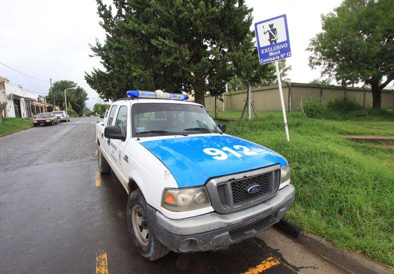 Investigación. Personal policial busca a los autores del hecho.  Foto UNO/Archivo ilustrativa