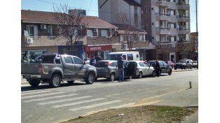 Choque en cadena en avenida Ramírez