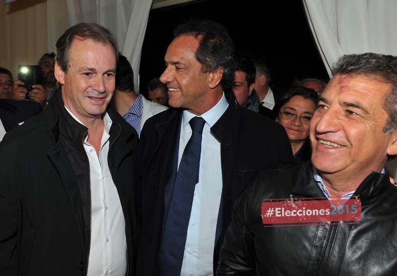 "Urribarri: ""La fórmula Daniel Scioli-Carlos Zannini representa el federalismo"""