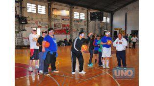 Ayer entrenaron en la cancha de Olimpia de Paraná.   Foto UNO/Juan Manuel Hernández